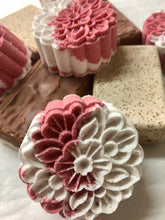 Load image into Gallery viewer, Strawberries and Cream Double Sided Soap