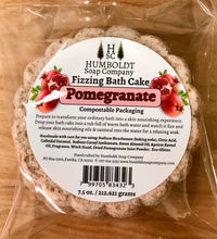 Load image into Gallery viewer, Pomegranate Fizzing Bath Cake