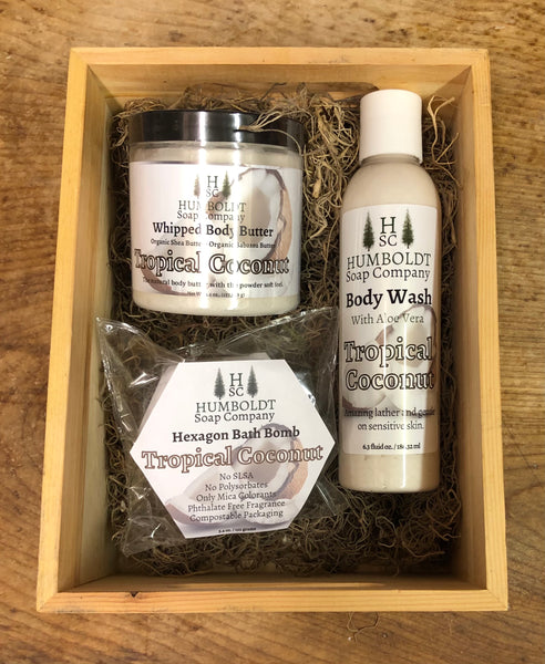 Tropical Coconut Gift Set