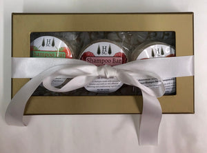 Shampoo Bar Sampler 3 Pack - Gift Wrapped FREE