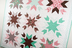 #117 Snow Blossoms - Paper Pattern