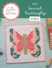 Load image into Gallery viewer, #137 Social Butterfly Mini - Paper Pattern