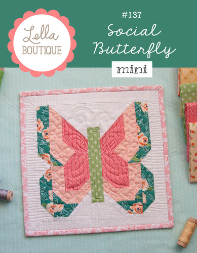 #137 Social Butterfly Mini - PDF Pattern