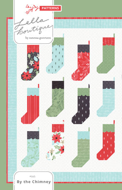 #145 By the Chimney - Paper Pattern