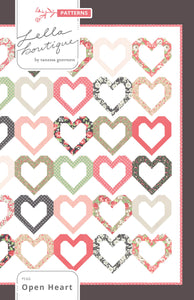 #146 Open Heart - PDF Pattern
