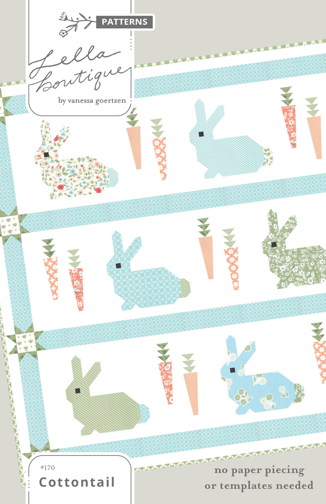 #170 Cottontail - Paper Pattern