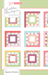 #178 Square Dance - Paper Pattern