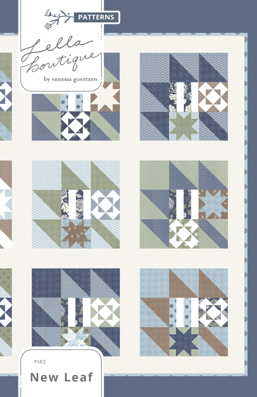 #182 New Leaf - PDF Pattern