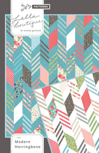 Load image into Gallery viewer, #187 Modern Herringbone - Paper Pattern