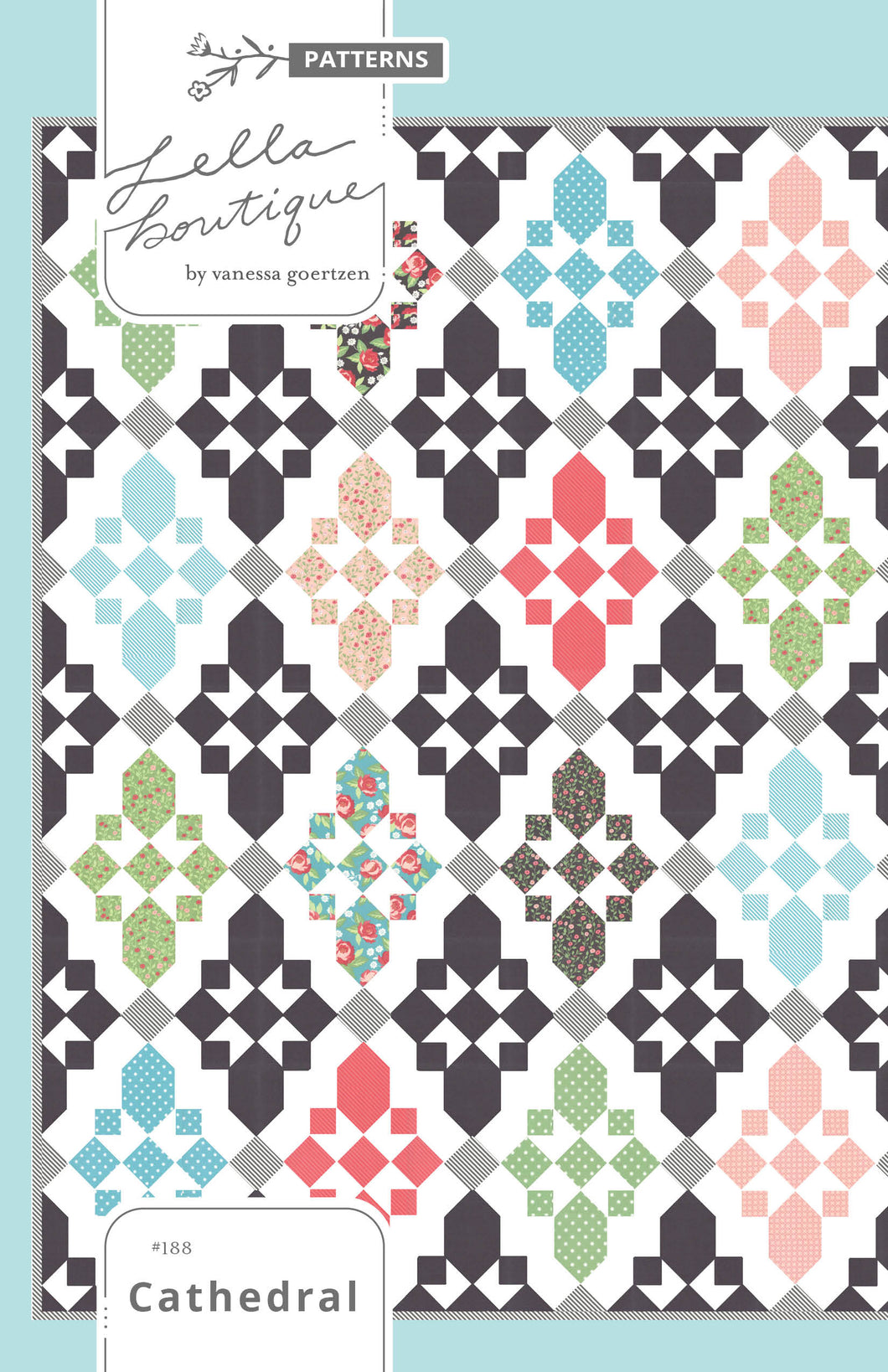 #188 Cathedral - PDF Pattern