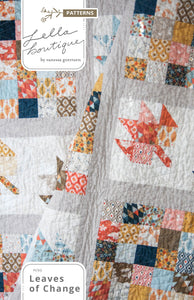 #190 Leaves of Change - PDF Pattern