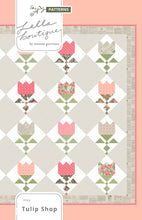 Load image into Gallery viewer, Tulip Shop fat eighth quilt PDF pattern by Lella Boutique. Fabric is Love Note fabric collection by Lella Boutique.