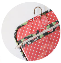 Load image into Gallery viewer, COMING SOON - #189 Kiss & Makeup {Hanging Travel Bag} - PDF Pattern