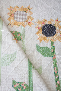 #164 Scrappy Sunflower - Paper Pattern