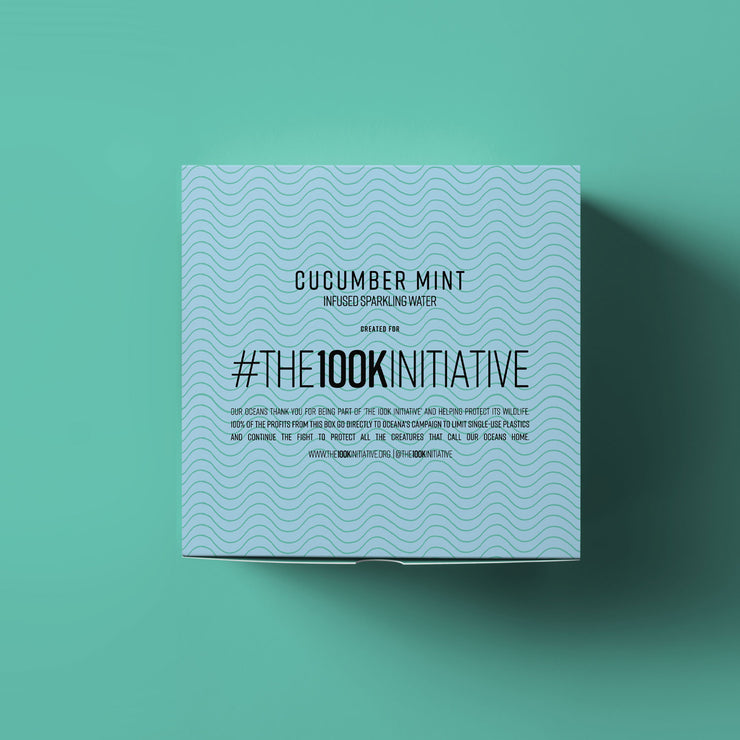 The 100k Initiative - Cucumber Mint (12-Pack)