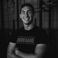 Renegade Coffee Bar Team Member Sam Randall Headshot in a CrossFit/Functional Fitness Gym