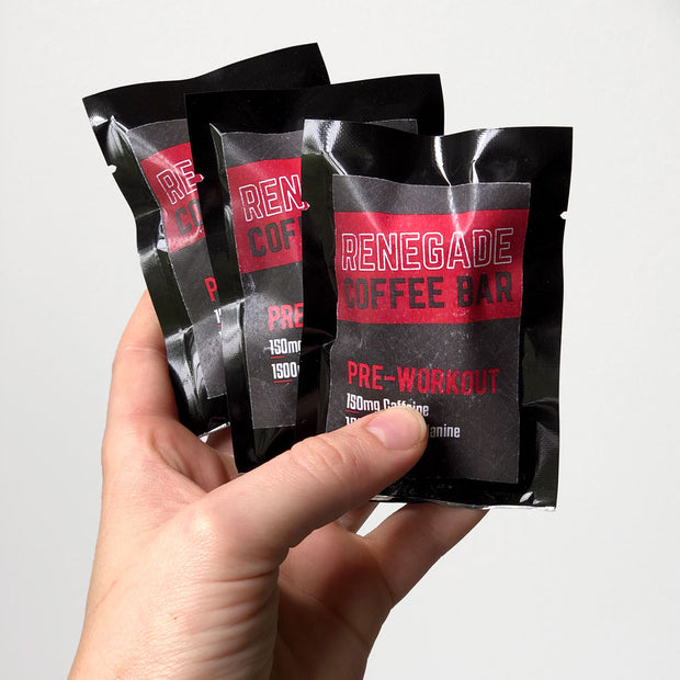 Pre-Workout Coffee Bar | 3 Pack