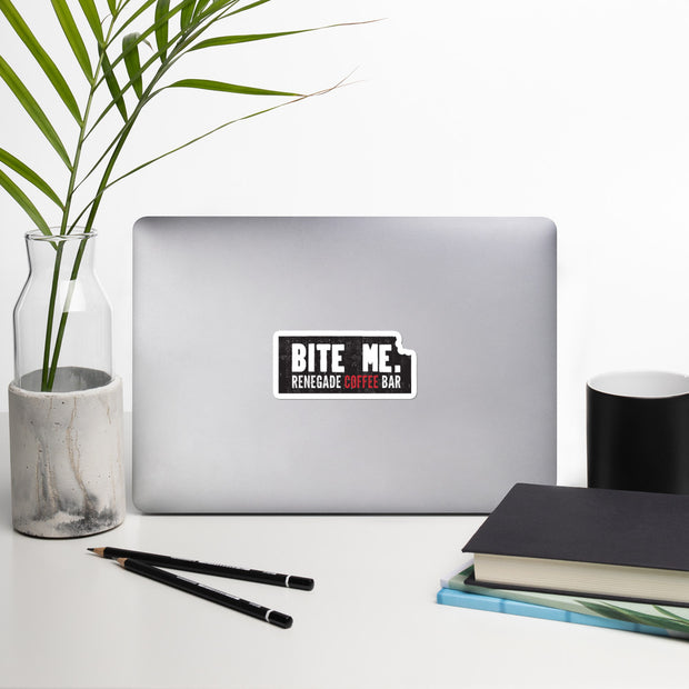 'BITE ME' Vinyl Sticker | 4-Inch