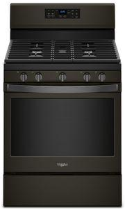 Whirlpool WFG550S0HV  30-INCH,5 CU FT, GAS FREESTANDING FAN CONVECTION RANGE WITH 5 BURNERS,HIDDEN BAKE,SELF CLEAN,FROZENBAKE