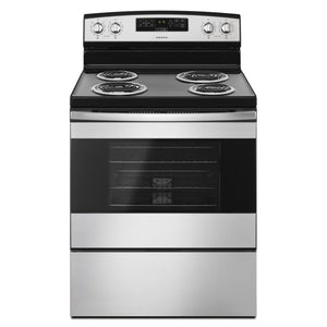Amana YACR4303mfs Electric Range with Bake Assist Temps
