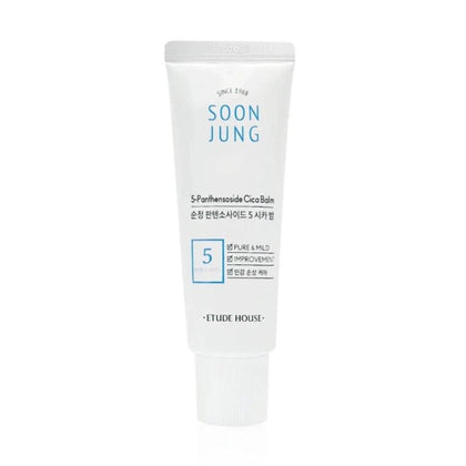 Etude House Soon Jung 5-Panthensoside Cica Balm (40mL) - Skiskin