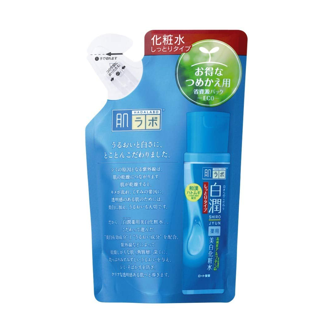 Hada Labo Shirojyun Arbutin Whitening Lotion: Moist REFILL (170mL)