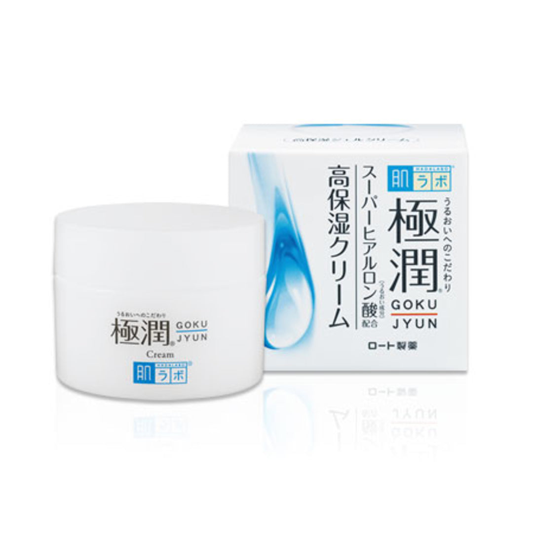 Hada Labo Gokujyun Hyaluronic Acid Hydrating Cream (50 g)