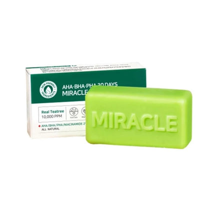 SOME BY MI AHA BHA PHA 30 Days Miracle Cleansing Bar (106 g) - SKISKIN