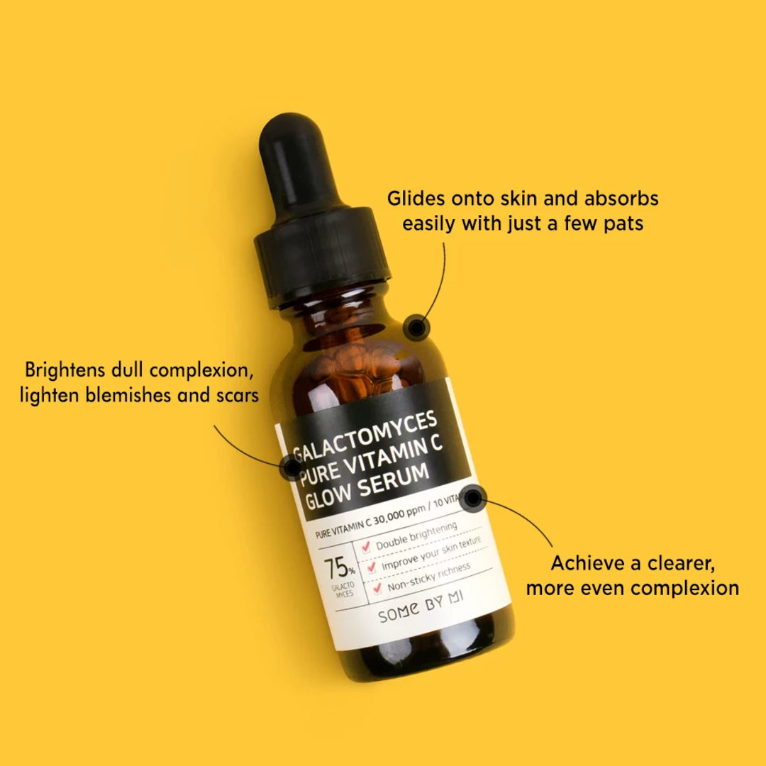 SOME BY MI Galactomyces Pure Vitamin C Glow Serum (30mL)