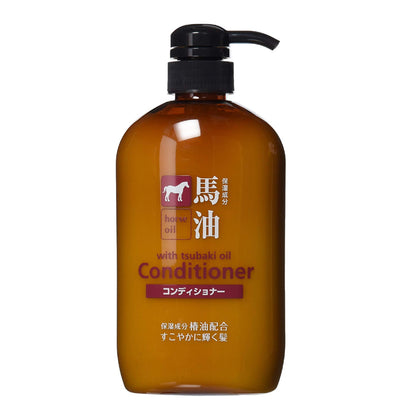 Cosme Station Kumano Horse Oil Conditioner (600mL) - Skiskin