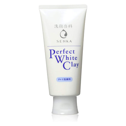 Senka Perfect White Clay Facial Cleanser (120g) - Skiskin