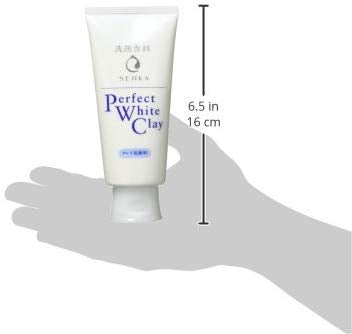 Senka Perfect White Clay Facial Cleanser (120g)