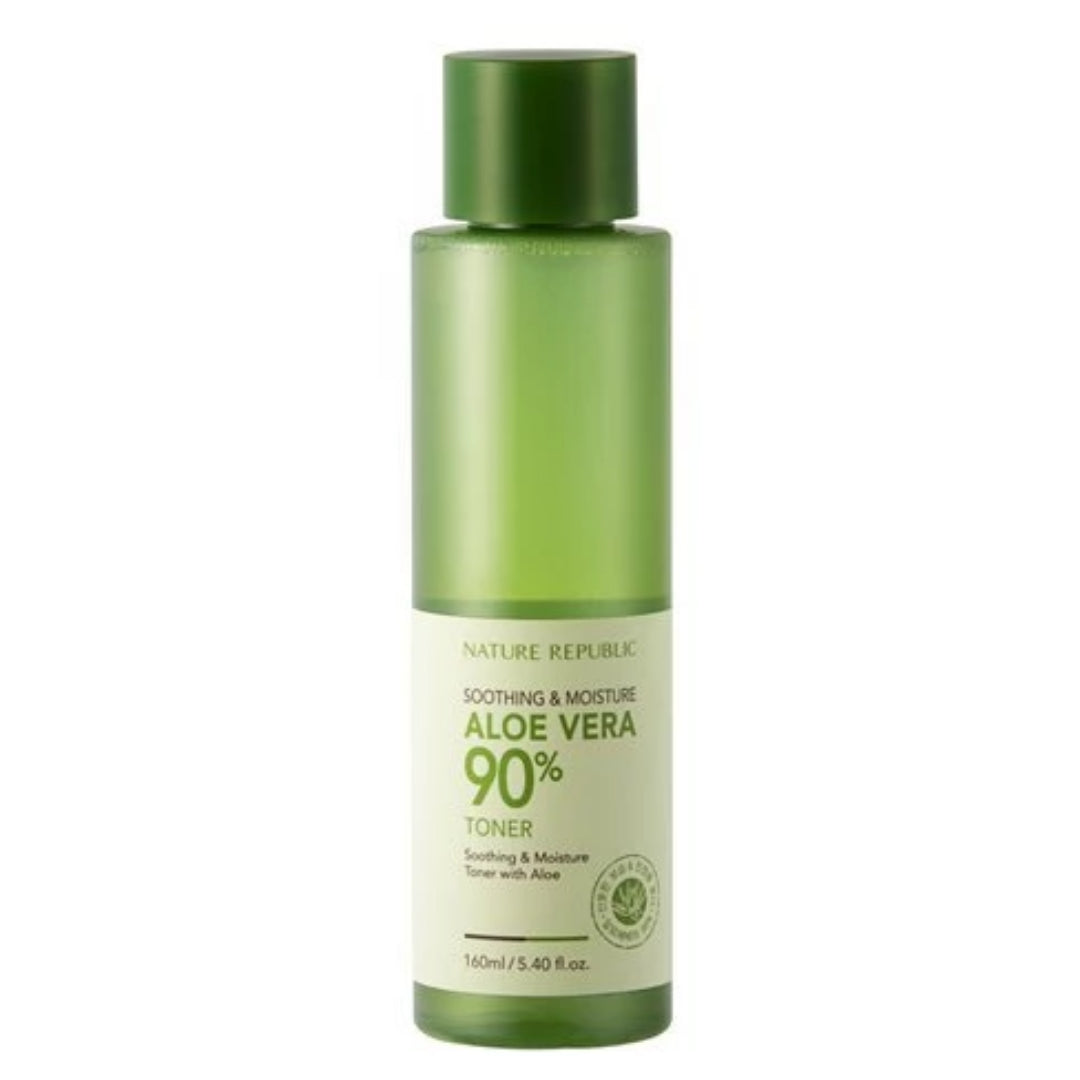 NATURE REPUBLIC - Soothing & Moisture Aloe Vera 90% Toner (160ml)