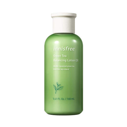 Innisfree Green Tea Balancing lotion EX (160 mL) - SKISKIN