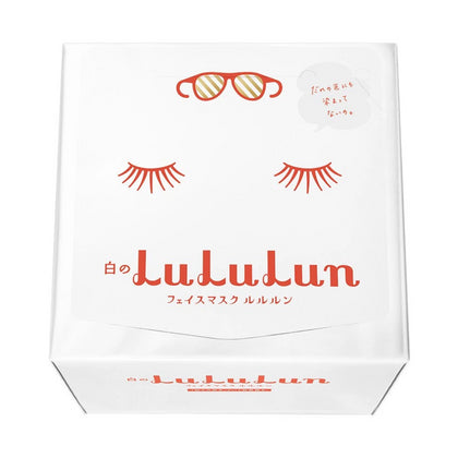 LuLuLun Sheet Masks Precious White, 32 sheets (Refreshingly Clear) - Skiskin