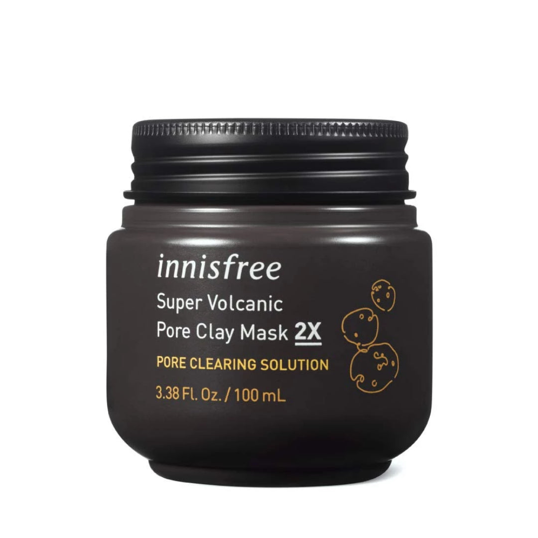 Innisfree Super Volcanic Pore Clay Mask_2X (100 mL)