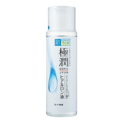 Hada Labo Gokujyun Hyaluronic Lotion: Moist (170 mL) - Skiskin