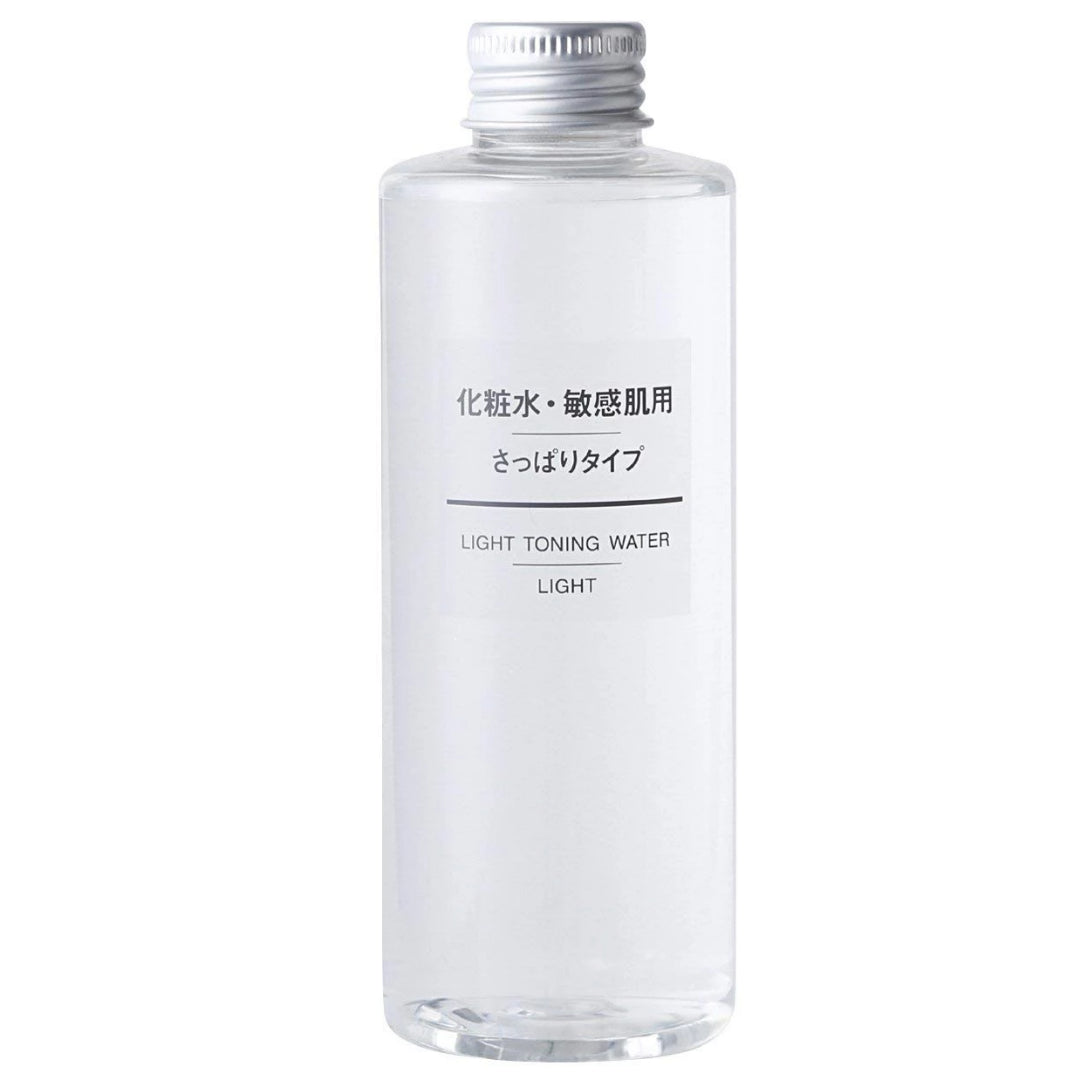 MUJI Sensitive Skin Moisturizing Toning Water/Toner, Light (200mL)