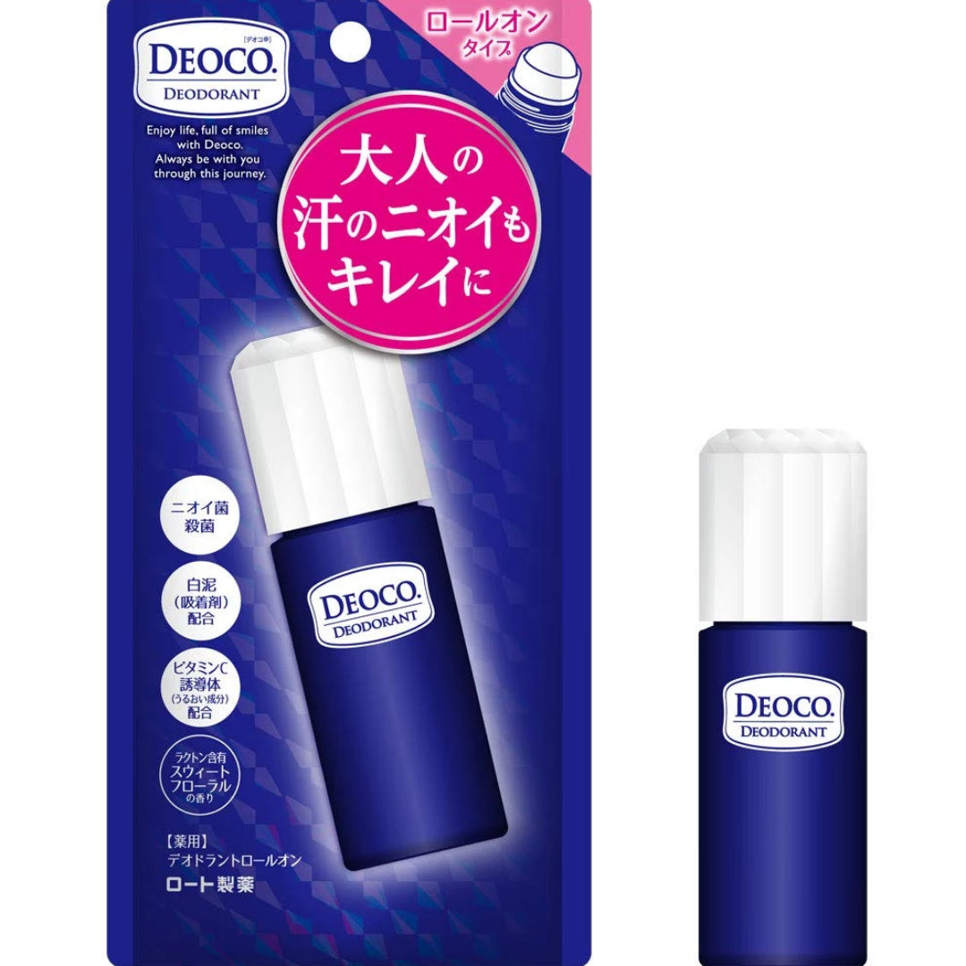 DEOCO Medicinal Deodorant Floral incense Roll-On 13g