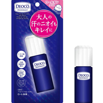 DEOCO Medicinal Deodorant Floral incense Roll-On 13g - Skiskin