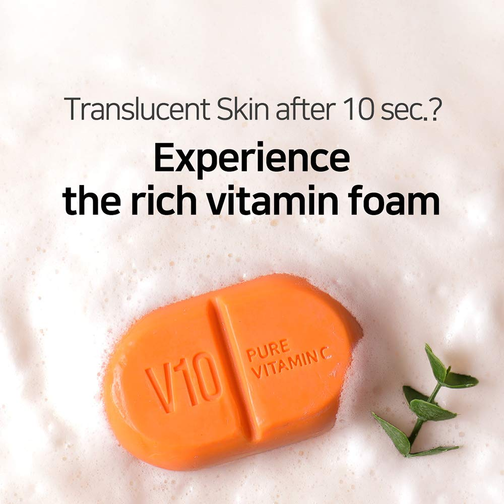 SOME BY MI Pure Vitamin C V10 Cleansing Bar (106g)