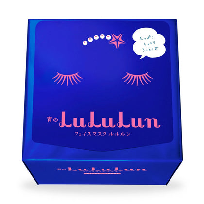 LuLuLun Sheet Masks Precious Blue, 32 sheets (Heavy Moisturizing) - SKISKIN