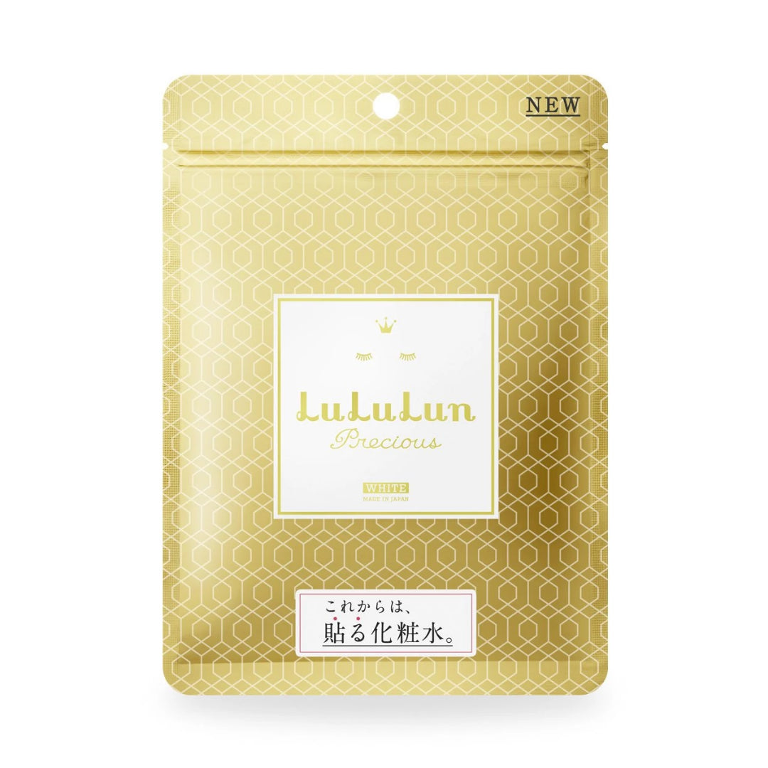 LuLuLun Sheet Masks Precious White, 7 sheets (Crystal Clear)