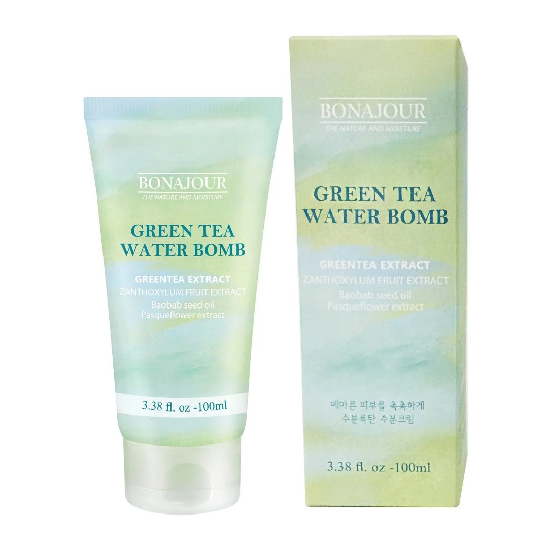 BONAJOUR Green Tea Water Bomb Cream (100mL)