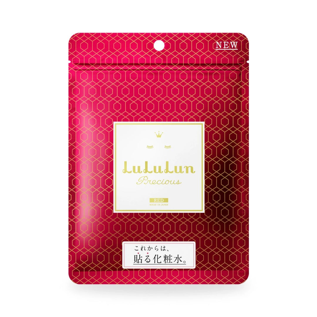 LuLuLun Sheet Masks Precious Red, 7 sheets (Skin Maintenance)