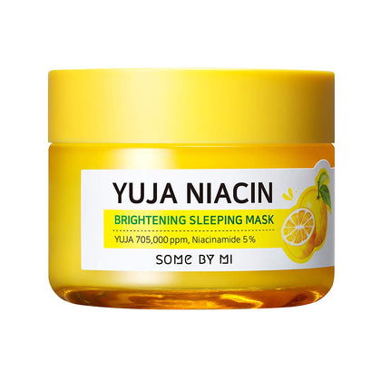 SOME BY MI Yuja Niacin 30 Days Miracle Brightening Sleeping Mask (60g) - SKISKIN