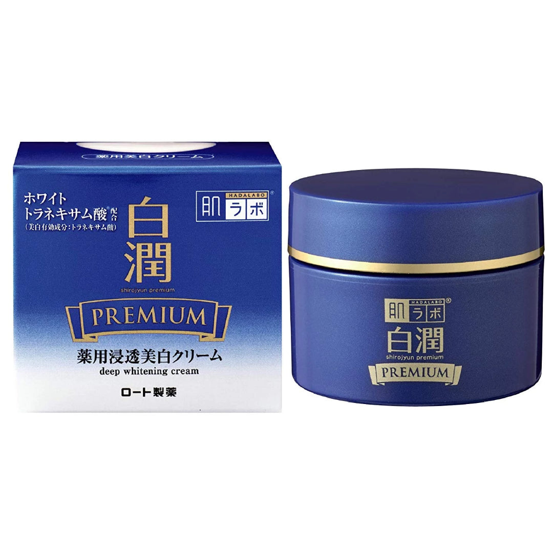 Hada Labo Shirojun Premium Medicated Deep Whitening Cream (50g)