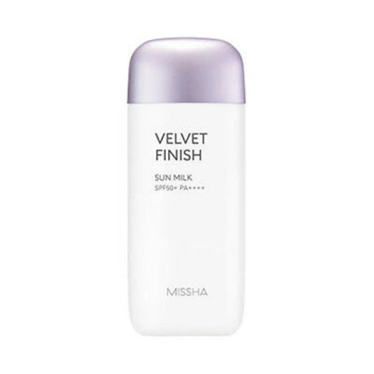 MISSHA All-around Safe Block Velvet Finish Sun Milk SPF50+ PA++++ (70mL) - SKISKIN