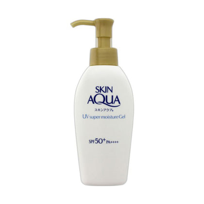 ROHTO Skin Aqua UV Super Moisture Gel SPF50+/ PA++++ with Pump (140 g) - Skiskin