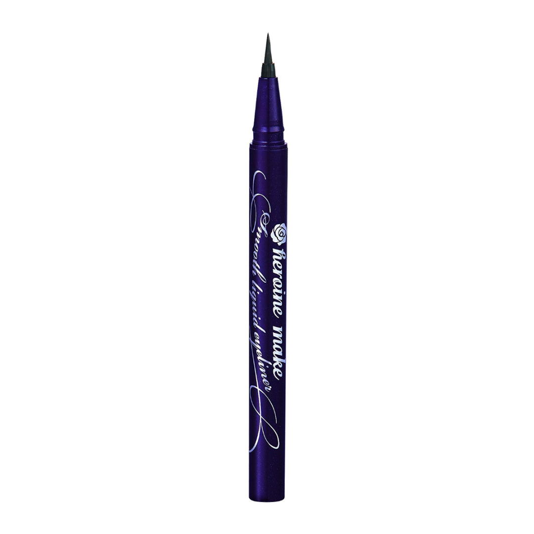 ISEHAN Kiss Me Heroine Make Smooth Liquid Eyeliner Super Keep 01 Jet Black (0.4 mL)